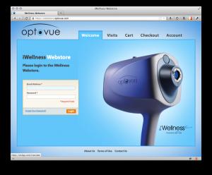 Optovue iWellness Webstore